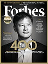 cover of Forbes magazine