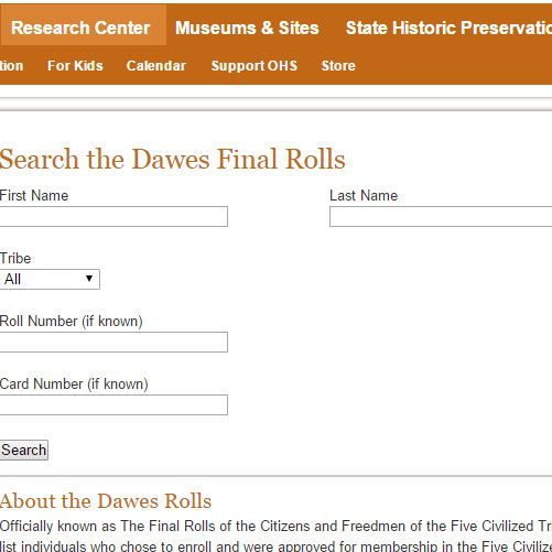 List Categories and Listings by D: Genealogy