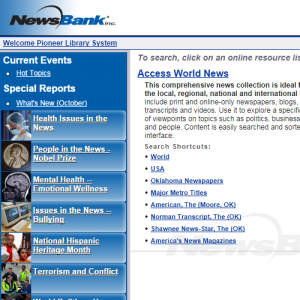 Newsbank Newspapers