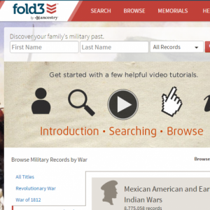 Fold3 History & Genealogy Archives