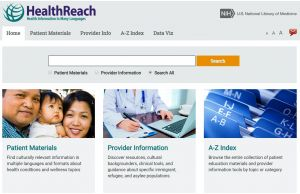 HealthReach: Health Information in Many Languages